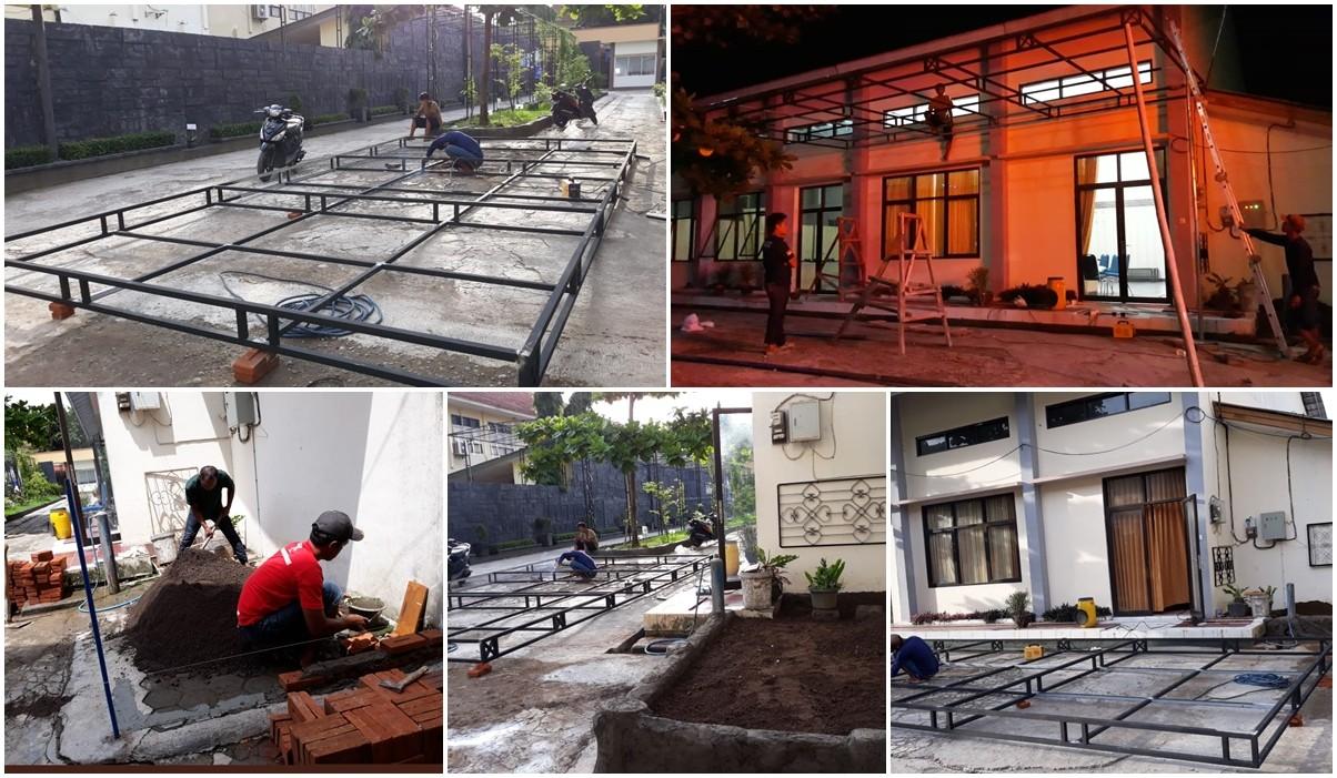 Penataan Lingkungan Teaching Factory