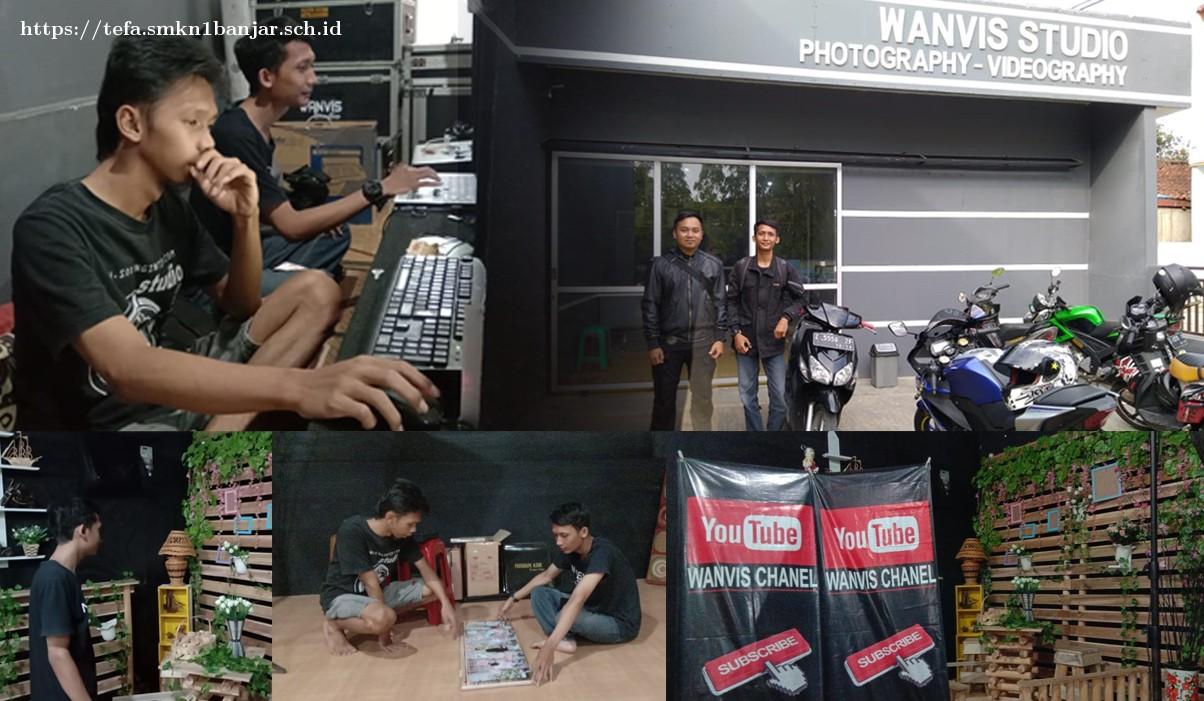 Pemagangan guru multimedia di industri | Tempat Wanvis Studio